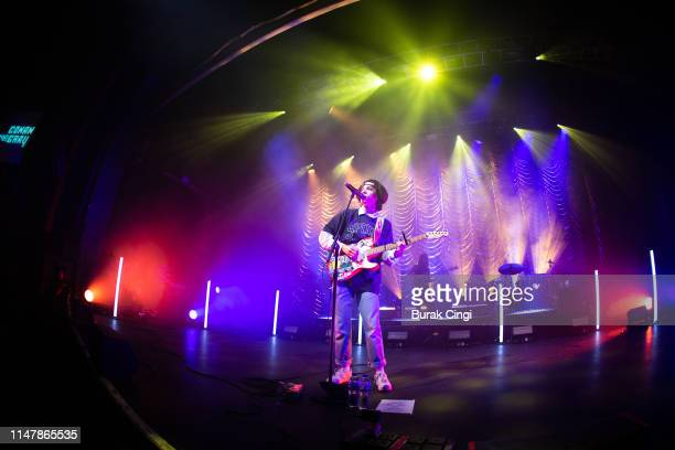Conan Gray performs on stage at O2 Forum Kentish Town on May 08 2019 in London England
