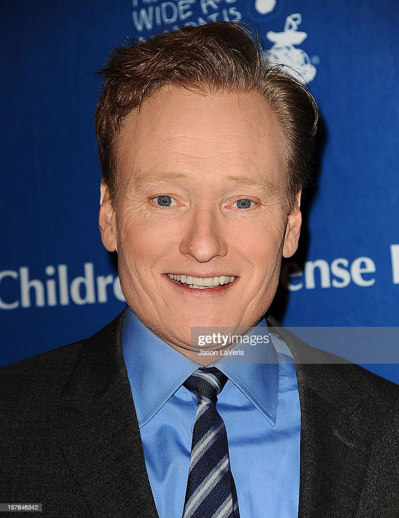 Conan O'Brien attends the Children's Defense Fund's 22nd annual 'Beat the Odds' Awards at the Beverly Hills Hotel on December 6, 2012 in Beverly Hills, California.
