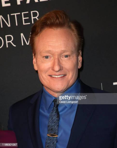 Conan O'Brien attends The Paley Honors: A Special Tribute To Television's Comedy Legends at the Beverly Wilshire Four Seasons Hotel on November 21,...