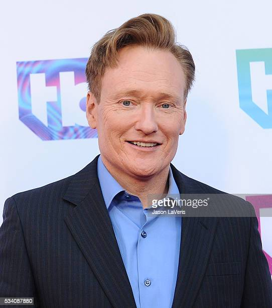 Conan O'Brien attends the TBS For Your Consideration event at The Theatre at Ace Hotel on May 24, 2016 in Los Angeles, California.