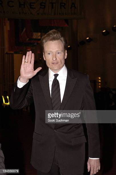 Conan O'Brien during 7th Annual Mark Twain Prize For American Humor Honoring Lorne Michaels at John F Kennedy Center for the Perfoming Arts in...
