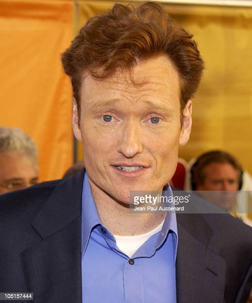 Conan O'Brien during NBC All Star Casino Night 2003 TCA Press Tour Arrivals at Renaissance Hotel Grand Ballroom in Hollywood California United States