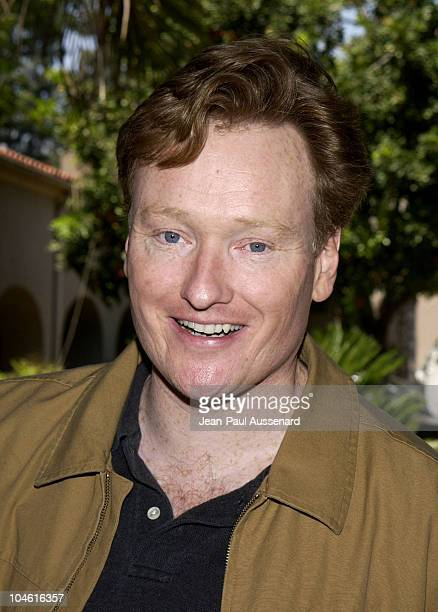 Conan O'Brien during NBC Summer 2002 Press Tour Day 1 at Ritz Carlton Hotel in Pasadena California United States