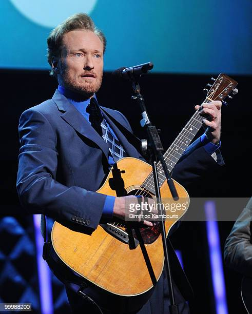 Conan O'Brien performs at the TEN Upfront presentation at Hammerstein Ballroom on May 19 2010 in New York City 19688_002_0932JPG