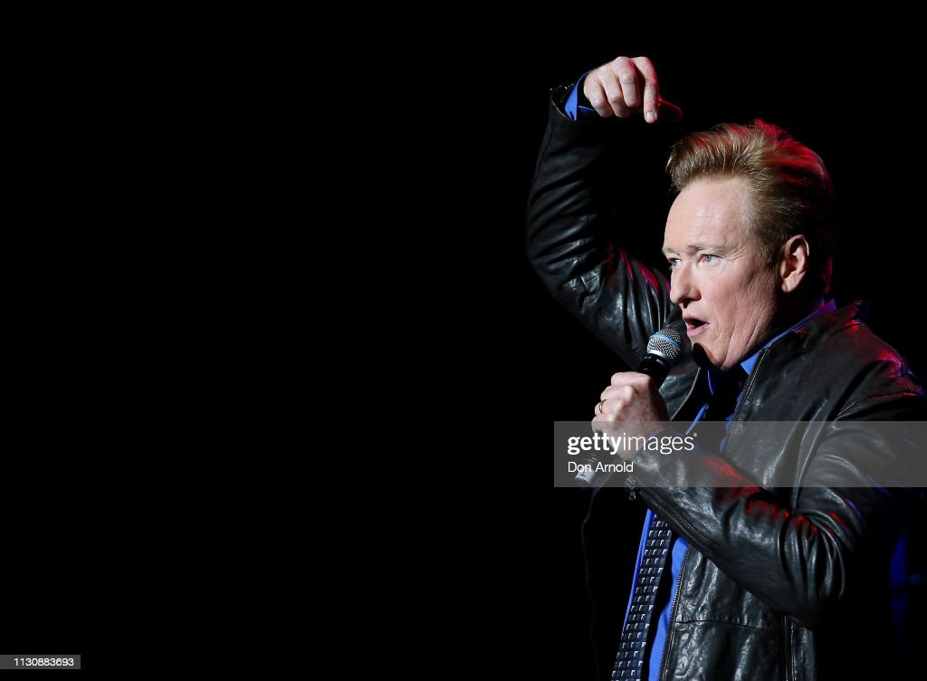 AUS: Conan O'Brien Performs In Sydney