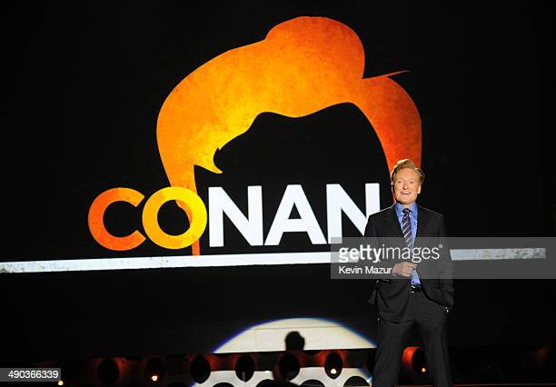 Conan O'Brien speaks onstage at the TBS / TNT Upfront 2014 at The Theater at Madison Square Garden on May 14 2014 in New York City 24674_001_1161JPG