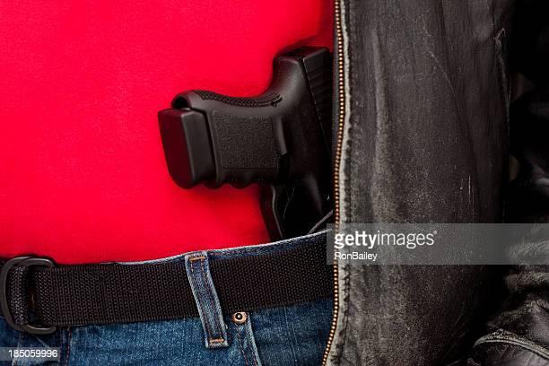 Concealed Firearm Under Jacket
