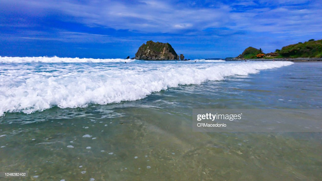 Conceição Beach is one of the most beatiful beaches in Fernando de Noronha and with an easy access : Stock Photo