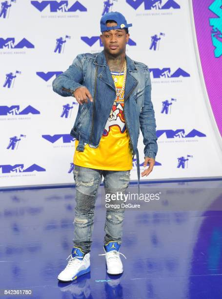 Conceited arrives at the 2017 MTV Video Music Awards at The Forum on August 27 2017 in Inglewood California