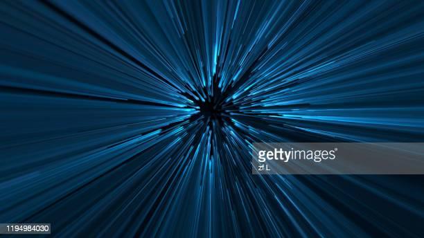 concentrated particle lines - fließen stock-fotos und bilder