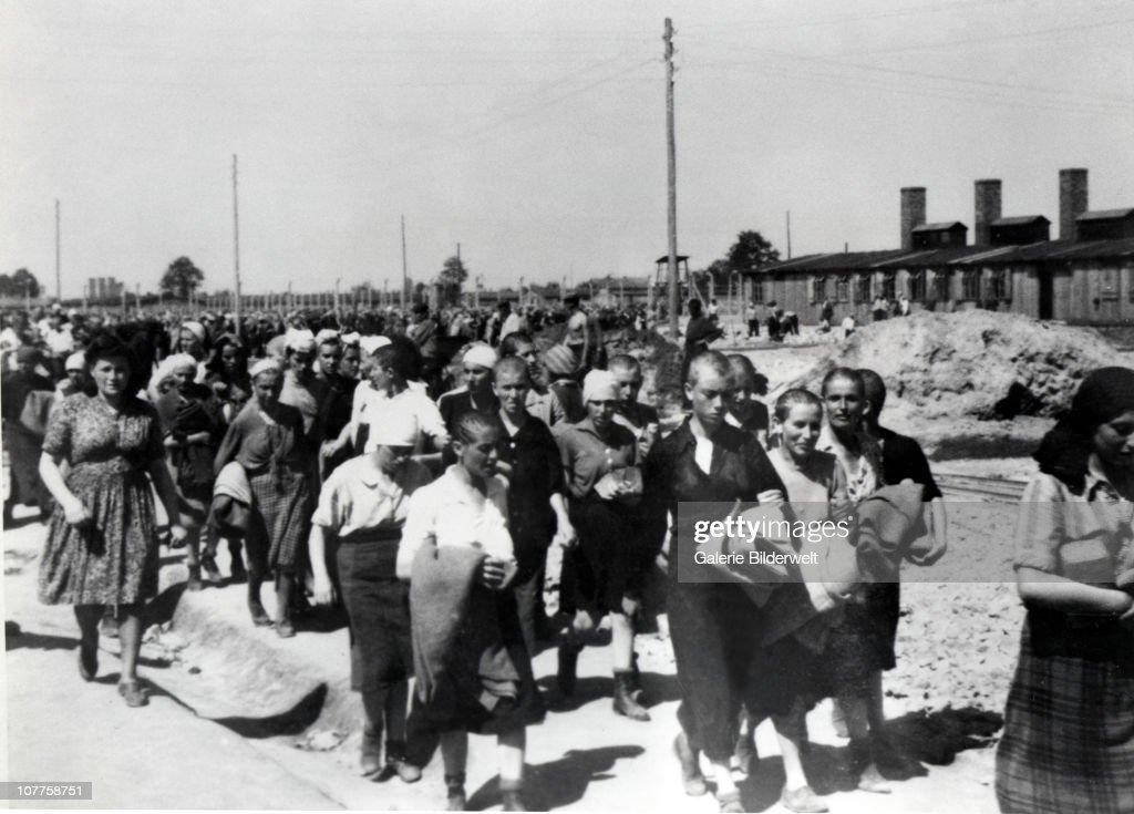 Concentration Camp Auschwitz : News Photo
