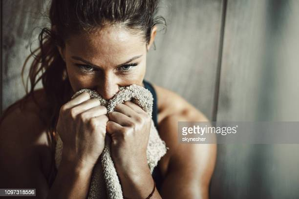 concentration is the key to successful sports training! - athlete stock pictures, royalty-free photos & images