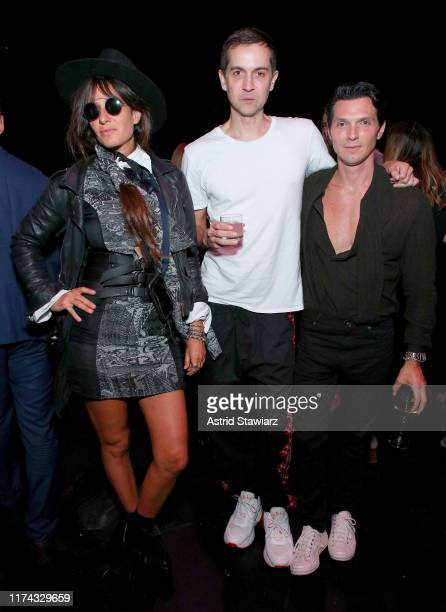 Concepción Cochrane Blaquier and guests attend the Gaucho Buenos Aires runway show at New York Fashion Week 2019 at The Kitchen NYC on September 12...