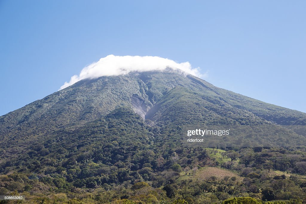 Concepcion Volcano View from Ometepe Island, Nicaragua : Stock Photo