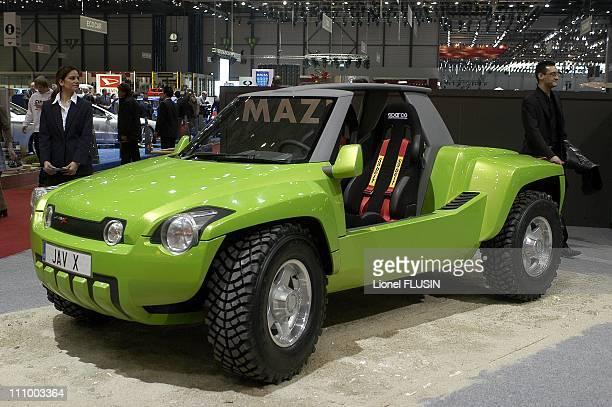 Concept Car Mazel Jav X in Geneva Switzerland on March 01st 2005