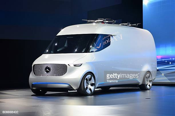 Concept car of modern van