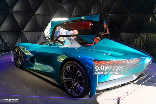 TENSE concept car on display at the 2019 Concours d'Elegance at palace Soestdijk on August 25 2019 in Baarn Netherlands The DS Automobiles X ETense...