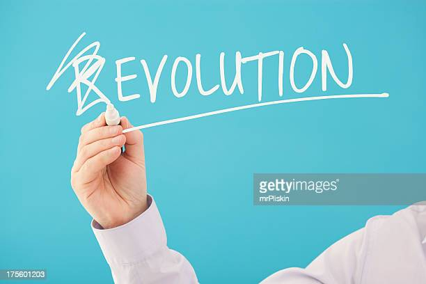 A concept design for 'Evolution, Not Revolution'