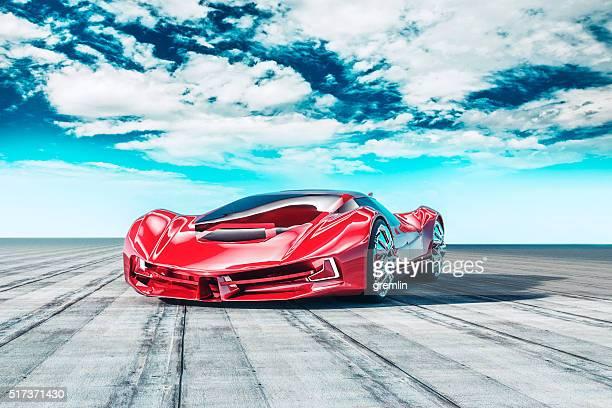 Concept de conception des voitures de sport standard
