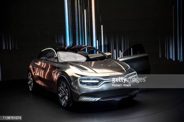 Concept Imagine is displayed during the first press day at the 89th Geneva International Motor Show on March 5 2019 in Geneva Switzerland