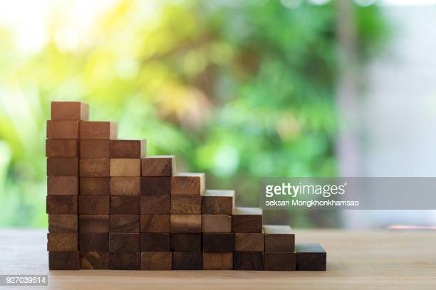 concept of building success foundation - nederzettingen stockfoto's en -beelden