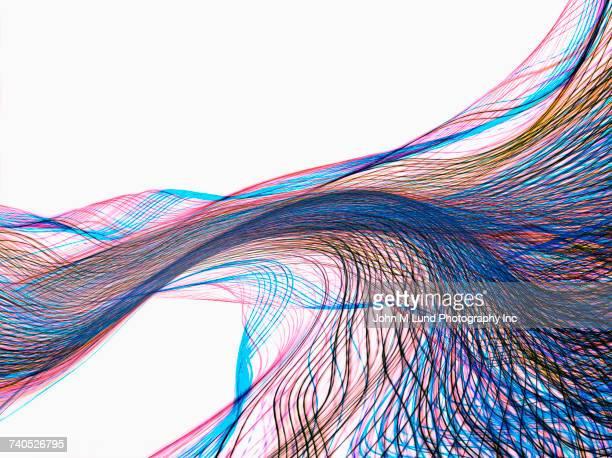 concept of data streaming - data stream - fotografias e filmes do acervo