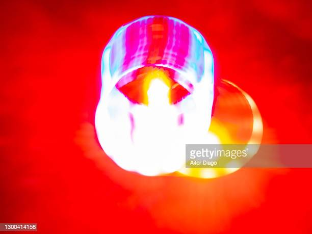 concept of explosion. - nuclear fusion stock pictures, royalty-free photos & images