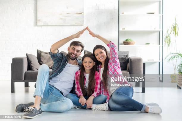 concept of housing for family - home interior stock pictures, royalty-free photos & images