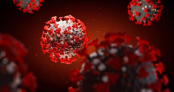 Concept of SARS-CoV-2 or 2019-ncov coronavirus 1208953647