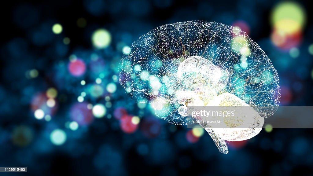 AI (Artificial Intelligence) concept. : Stock Photo