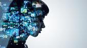 AI (Artificial Intelligence) concept.
