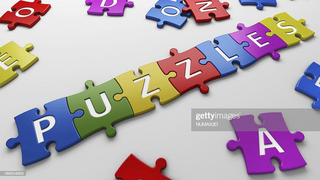 concept puzzle : Stock Photo