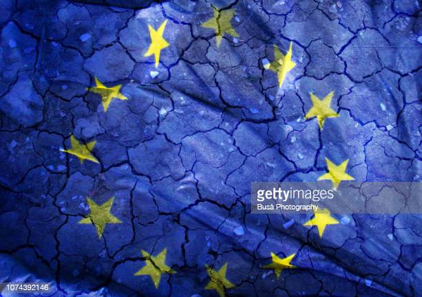 concept: the crisis of the european union - politiek en staatsbestuur stockfoto's en -beelden