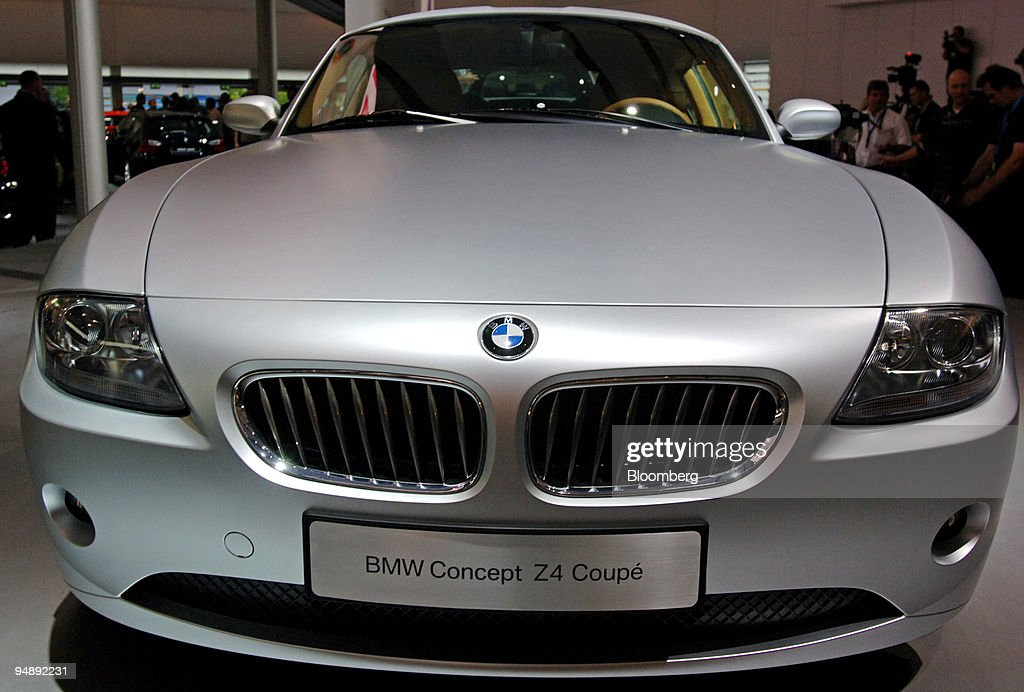 A BMW Concept Z4 Coupe automobile is seen at the IAA Frankfu ...