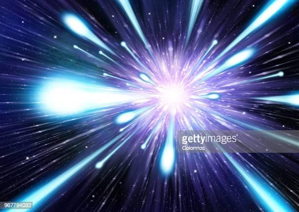 Conceptual art of space movement