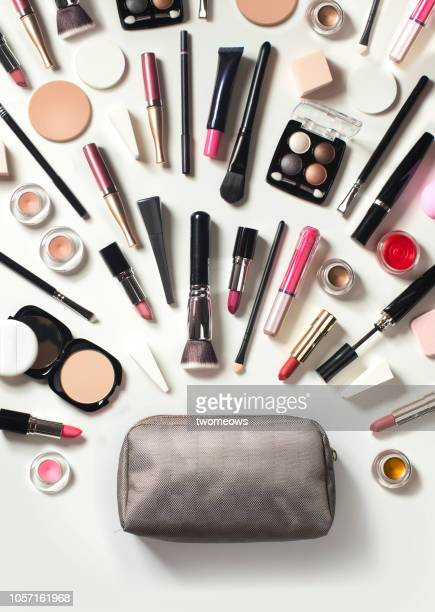 conceptual beauty product still life. - cosmetics stock pictures, royalty-free photos & images