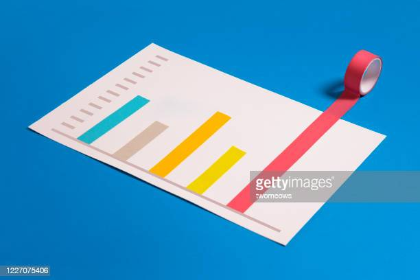 conceptual finance or business growth chart. - improvement stock pictures, royalty-free photos & images