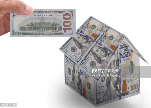 Conceptual image for invest the money in property business