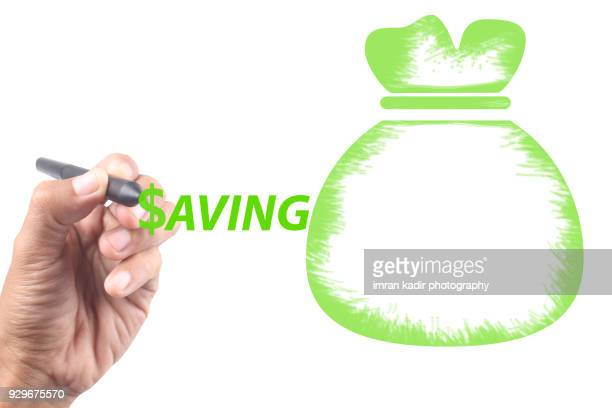 Conceptual image for saving money,Profit and investment.