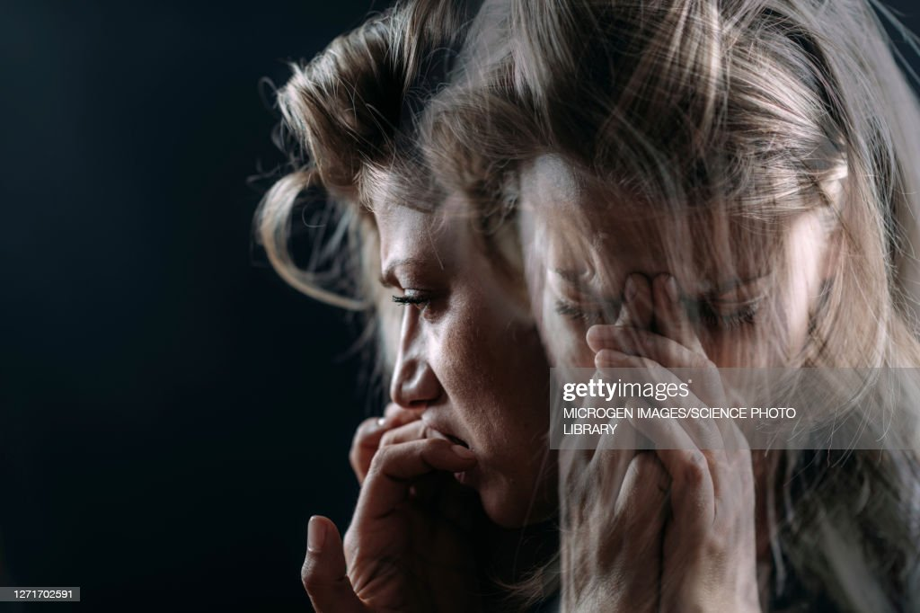 PTSD, conceptual image : Stock Photo