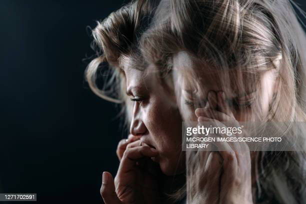 ptsd, conceptual image - post traumatic stress disorder stock pictures, royalty-free photos & images