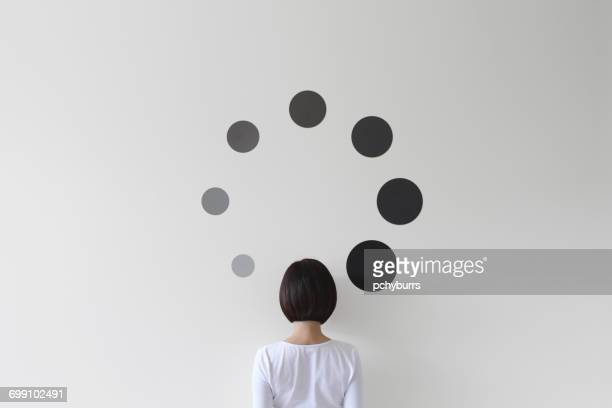 conceptual loading symbol - waiting stock pictures, royalty-free photos & images