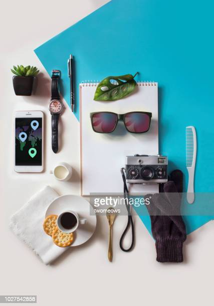 conceptual luxury lifestyle retail still life. - flat lay stock pictures, royalty-free photos & images