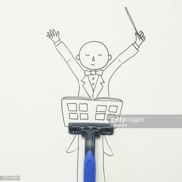 Conceptual Musical conductor