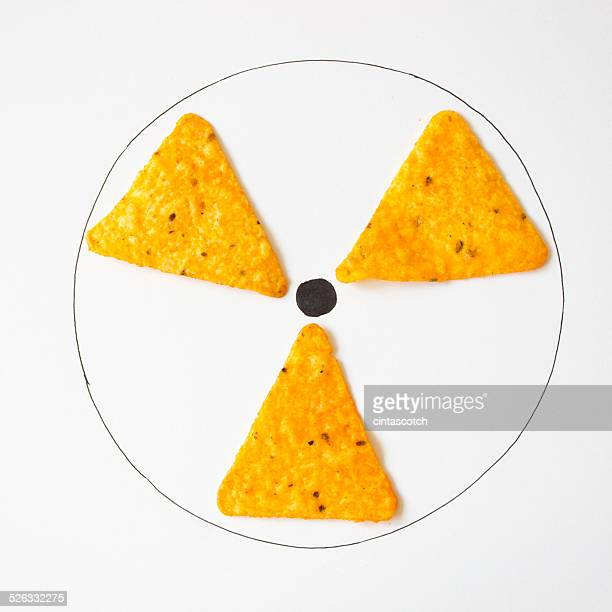 Conceptual radiation symbol