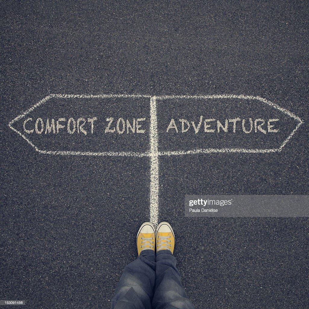 Conceptual shot of adventures : Stock Photo