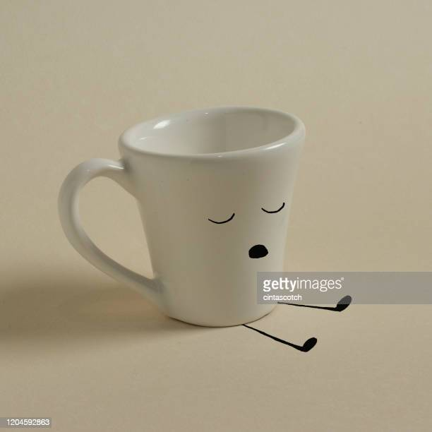 conceptual tired person - funny wake up stock pictures, royalty-free photos & images