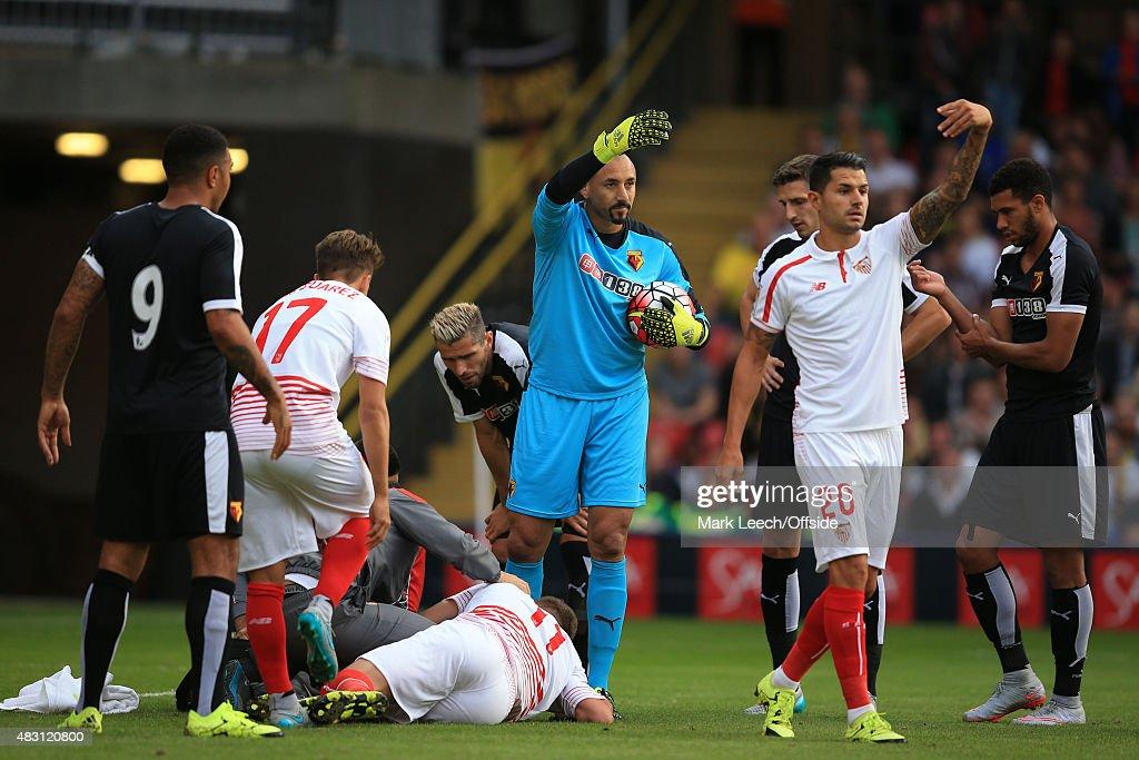 Watford v Sevilla - Pre Season Friendly : News Photo