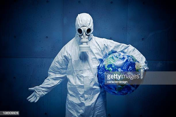 concerned for the planet. nuclear disaster - plague stock photos and pictures