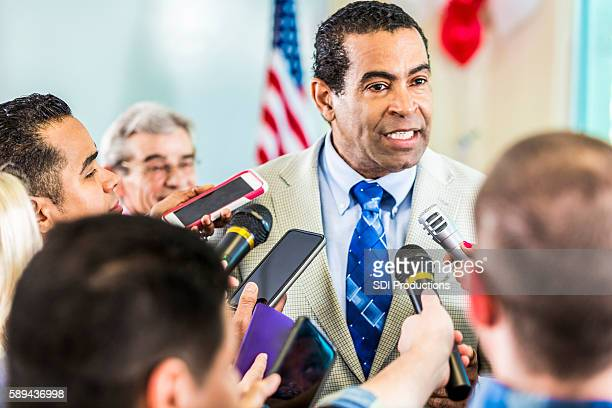 concerned man adresses the media - democracy stock pictures, royalty-free photos & images